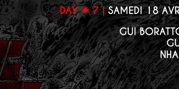 WIHMini Festival #5 Day 7 : Gui Boratto live, Gunjah & Nhar live