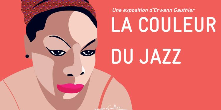 Exposition – « La Couleur du Jazz » d'Erwann Gauthier