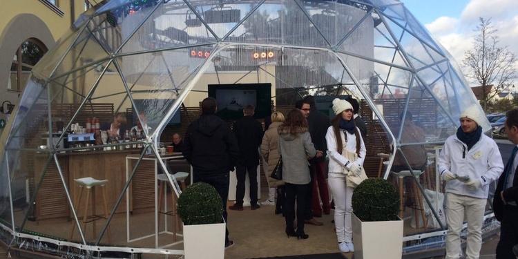 La Bougogne-Franche-Comté pose ses valises dans une bulle géante