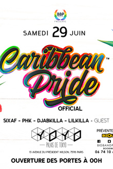 GAY PRIDE CARIBBEAN PARTY OFFICIAL