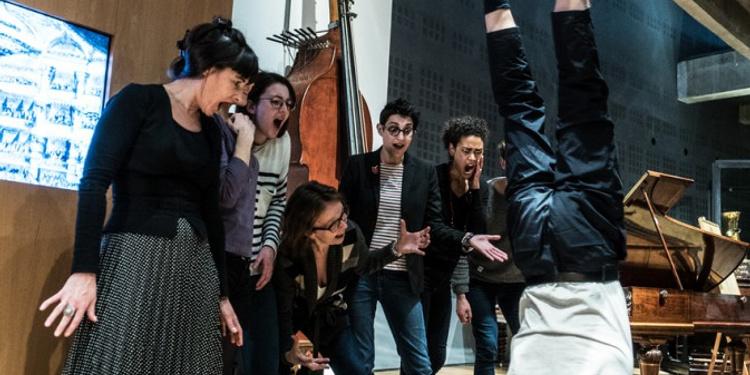 Visite timbrée au Musée de la musique : Ivres de musique