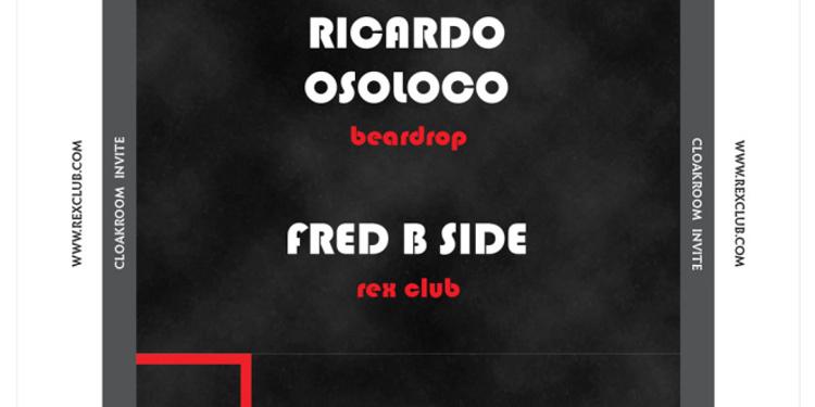 CLOAKROOM INVITE PIG & DAN - RICARDO OSOLOCO - FRED B SIDE