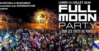 FULL MOON PARTY SUR LES TOITS DE PARIS (ROOFTOP / TERRASSE GEANTE / BARBECUE GEANT)