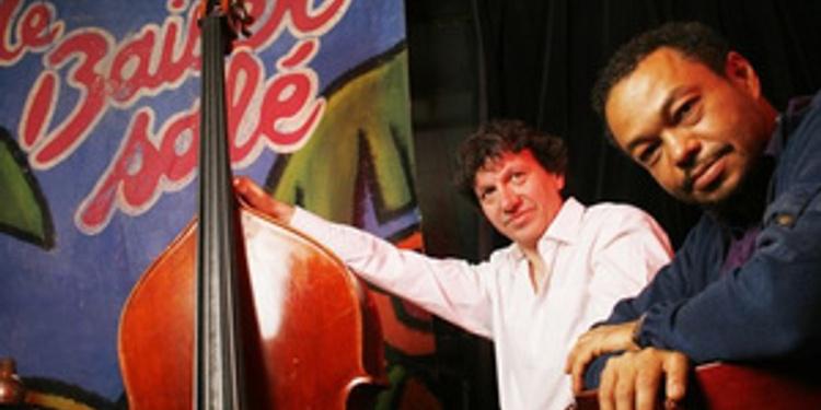 Mario Canonge - michel zenino duo jazz - résidence