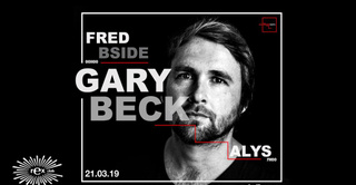 Cloakroom Invite Gary Beck, Fred Bside, Alys