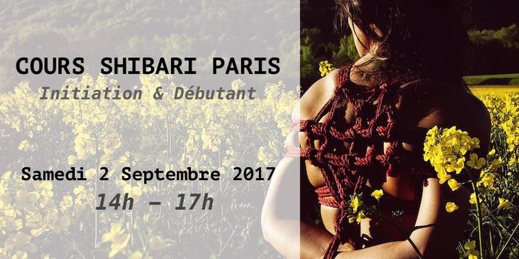 Cours de Shibari Initiation / Débutant par Seb Kinbaku
