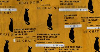 Le Chat Noir s'affiche au 59 Rivoli