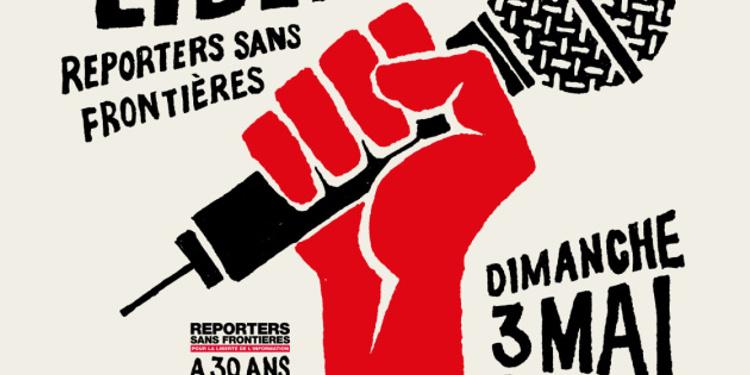 Un concert pour la liberté - Reporters sans frontière