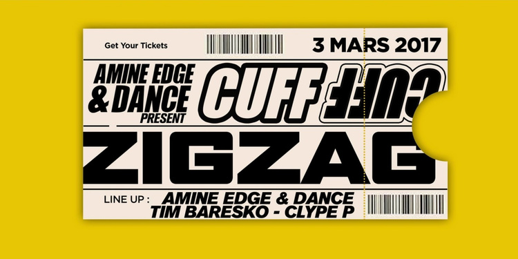 CUFF : Amine Edge & DANCE, Tim Baresko, Clyde P