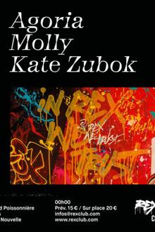 Rexist 8: Agoria, Molly, Kate Zubok