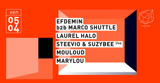 Concrete: Efdemin b2b Marco Shuttle, Laurel Halo, Steevio & Suzybee Live