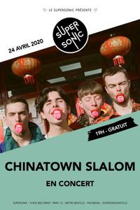 Chinatown Slalom en concert au Supersonic (Free entrance) - Le Supersonic - vendredi 24 avril