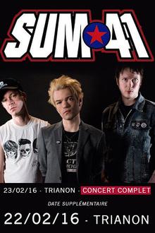 Sum 41 en concert