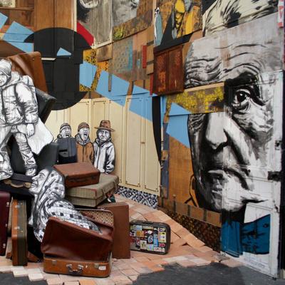 Le Grand 8 à la Réserve Malakoff : carte blanche au street art