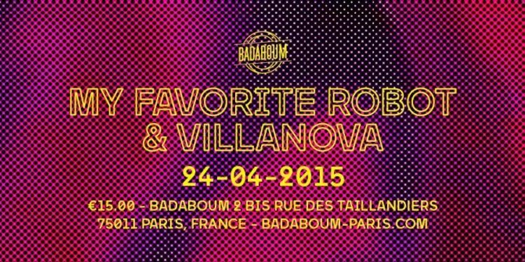 VLNV présente My Favorite Robot + Villanova