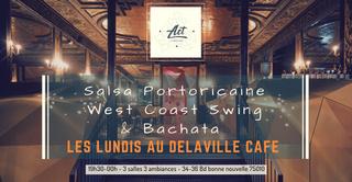 Salsa, West Coast Swing & Bachata / Les lundis Delaville café