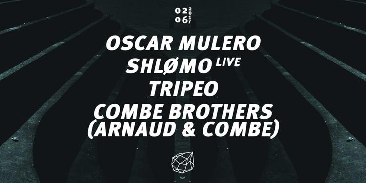 Concrete: Oscar Mulero, Shlømo, Tripeo, Combe Brothers