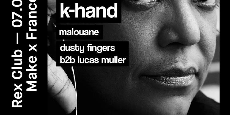 Make x France invite K-hand @Rexclub