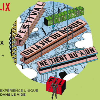 Netflix Festival à Paris : des films et séries dans des lieux insolites