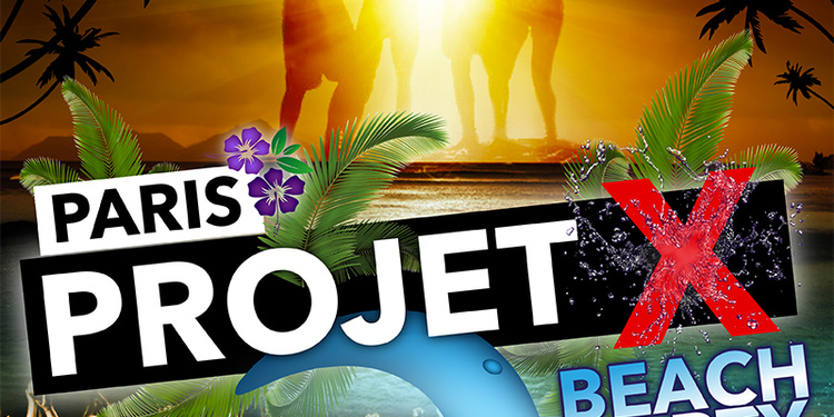 projet x beach party