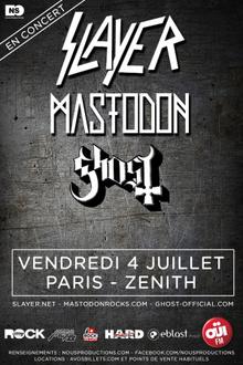 Slayer + Mastodon + Ghost + Anthrax