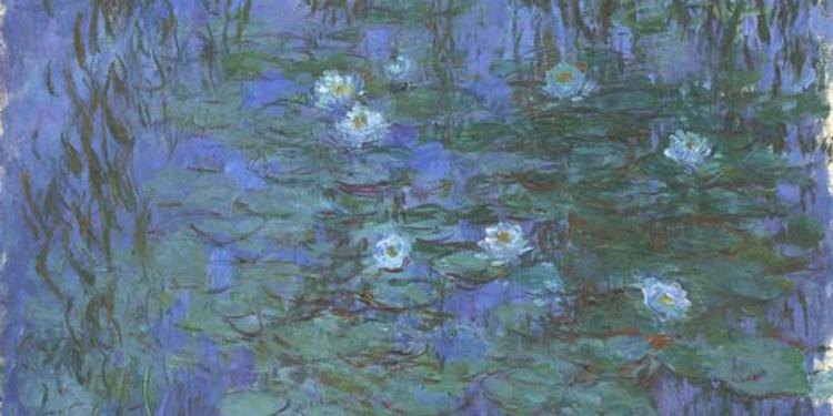 Nymphéas, L'abstraction new-yorkaise et le dernier Monet