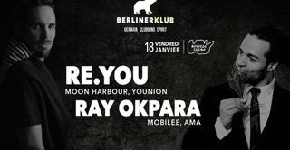 BERLINER Klub : Re You, Ray Okpara