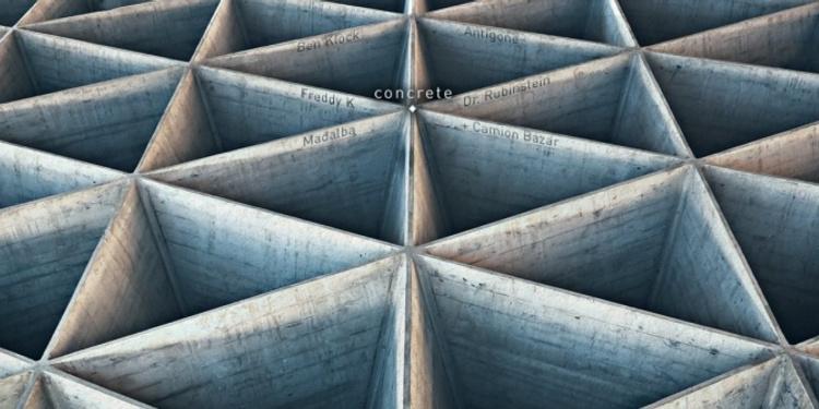 Concrete : Ben Klock / Antigone / Freddy K / Dr Rubinstein / Madalba // Woodfloor: Le Camion Bazar