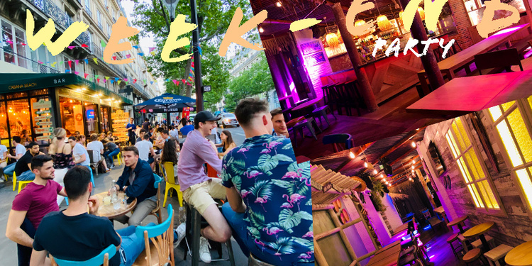 weekend party du cabana : terrasse & paillote