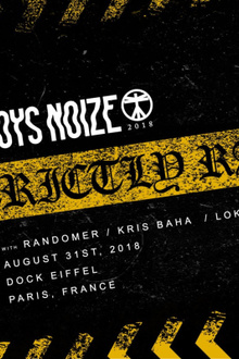Boys Noize presente Strictly RAW Warehaus