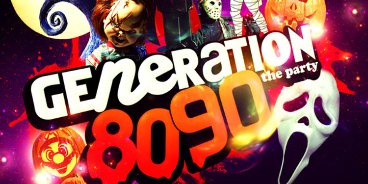 GENERATION 80-90 en mode Halloween