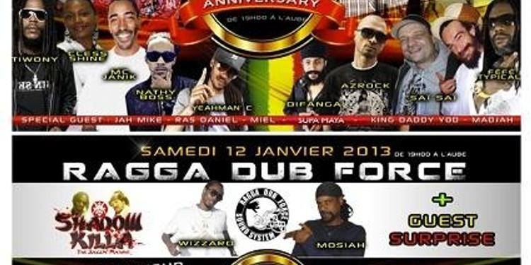 25ème anniversaire du Ragga Dub Force