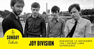 Sunday Tribute - Joy Division // Supersonic