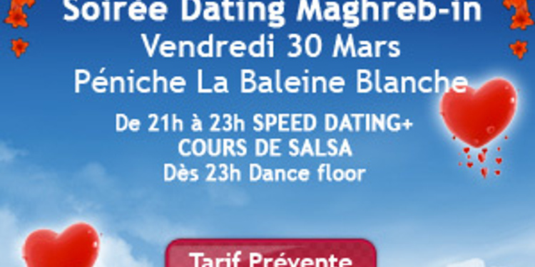 soirée speed dating maghrebin izlazi s vječnim prvostupnikom