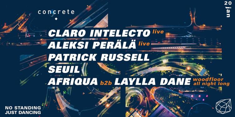 Concrete : Claro Intelecto, Aleksi Perälä, Patrick Russell, Seuil