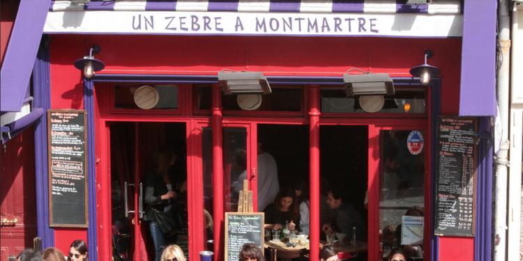 Un Zèbre à Montmartre