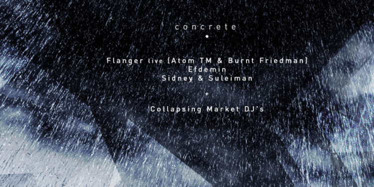 Concrete [Latency]: Efdemin, Flanger, Laurel Halo…