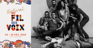 Cumbia Chicharra - Festival Au Fil des Voix