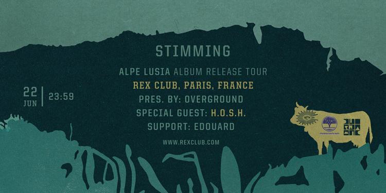 OVERGROUND : STIMMING ALPE LUSIA ALBUM RELEASE TOUR 2016