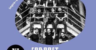 Cabaret d'improvisation et fanfare au 6b