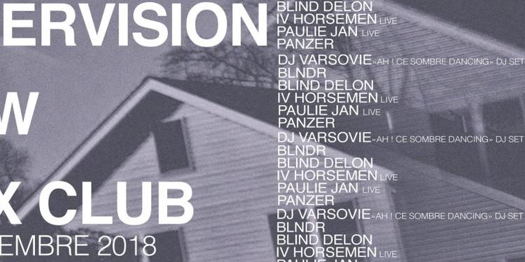 Intervision X Raw: Blind Delon, IV Horseman Live, Paulie JAN Live, Panzer, DJ Varsovie, BLNDR
