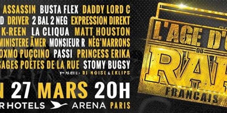 L'age d'or du rap francais