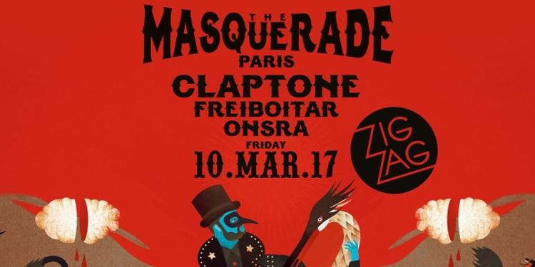 Claptone présente The Masquerade Paris