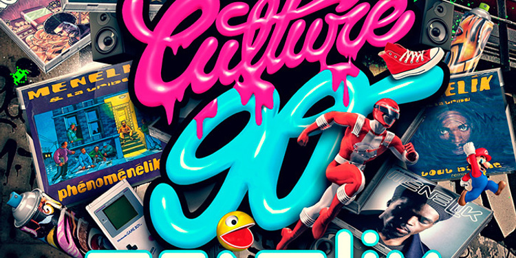 CULTURE 90 invite MENELIK (Live)