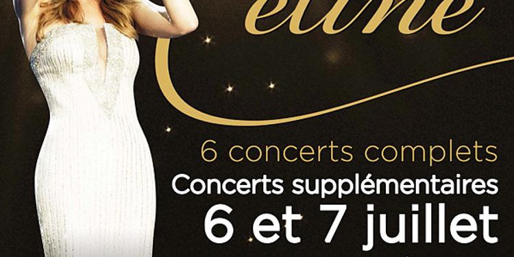 Celine Dion en concerts
