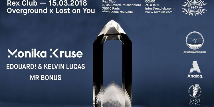 Overground x Lost On You: Monika Kruse, Edouard! & Kelvin Lucas, MR Bonus