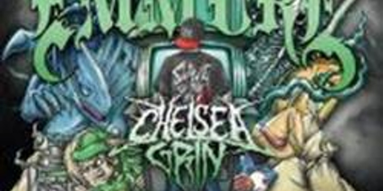 Emmure + chelsea grin + Obey the Brave + attila + buried in veron