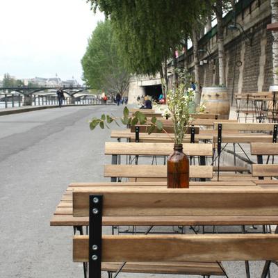 Restaurant Maison Maison, hotspot de l'apéro sur les Rives de Seine