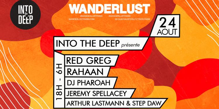 Into The Deep présente Red Greg, Rahaan, DJ Pharoah & plus