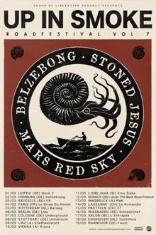 Up in smoke vol7 : Mars Red Sky + stoned jesus + belzebong